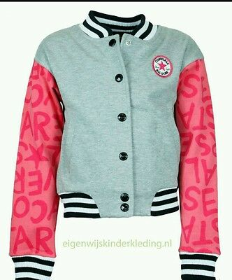 Girls Converse All Star Jacket 13-15 Years Bnwt