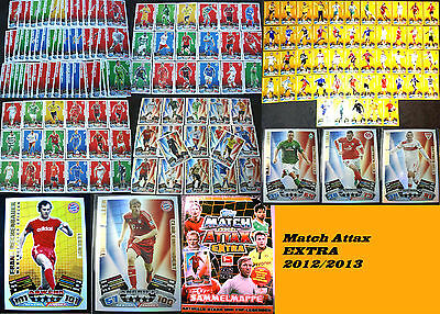 Match Attax EXTRA Bundesliga 12/13 2012/2013 Update Karten Sets Trading Card