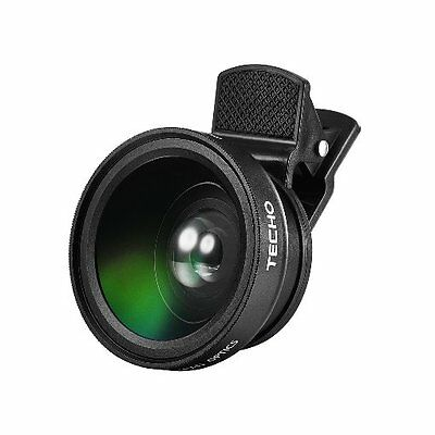 TECHO Universal Professional HD Camera Lens Kit for iPhone 7 / 6s Plus / 6s / 5s