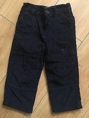 12-18 Corded Trousers Boys Early Days
