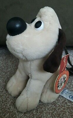 "Aardman Animation 1989 Wallace And Gromit Neck Purse 7"" Tagged"