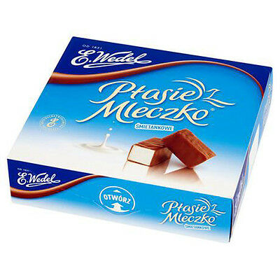 E.Wedel Milk Chocolate Covered Creamy Marshmallow 380g