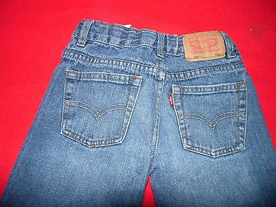 Boy's Levis 549 Relaxed Straight Distressed Jeans Size 7X