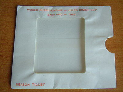 1966 World Cup Ticket Wallet Pouch Original Excellent Condition