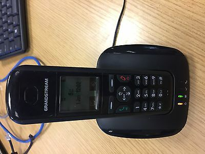Dect Voip Phone Cordless IP Base Sip Handset 5 Grandstream HD Yealink Station