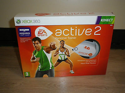 Xbox360 Ea Sports Active 2 Personal Trainer New Pal Uk