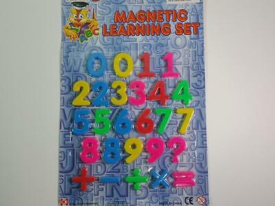 Preschool Learning Numbers Magnetic 123  Symbols Educational Toy (26 Piece Set)