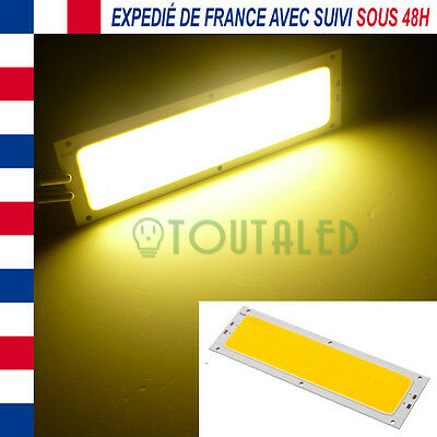 Led Cob High Power 12V Dc 10W 1120Lumens Blanc Chaud Camping Car Bateau Caravane