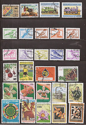 Benin  - Lot Of Stamps  - See The 2 Images