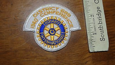 District 699 Conference Rotary International Patch   Bx M #6