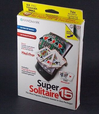 Super Solitaire 15 for PalmOS and Windows PocketPC by Handmark - FREE SHIPPING!