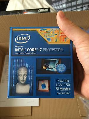 Intel i7 4790K 6700k 4GHz Quad-Core CPU Processor computer CASH ON COLLECTION