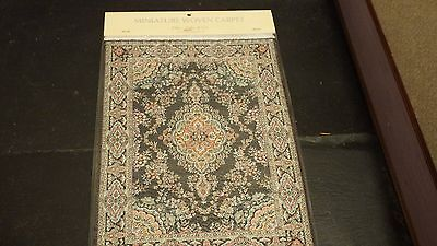 new Dolls House xlarge Turkish Carpet /rug 29cm x20cm 1.12th scale lotD