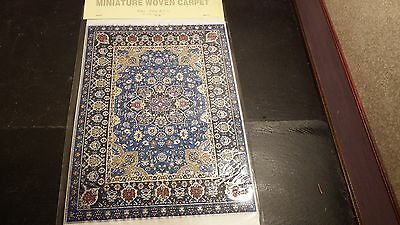 new Dolls House xlarge Turkish Carpet /rug 29cm x20cm 1.12th scale lotJ