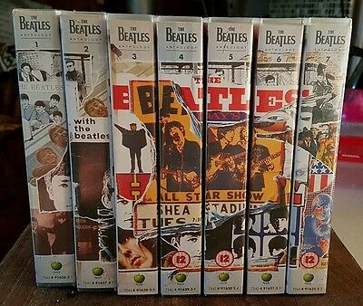 The Beatles Anthology VHS tapes 1 to 8  Complete set