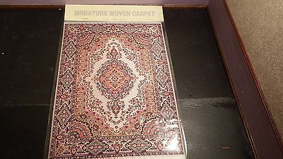 new Dolls House xlarge Turkish Carpet /rug 29cm x20cm 1.12th scale lotR