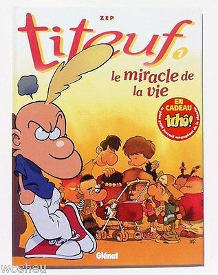 EO -- Titeuf -- tome 7 - avec journal -- Zep -- COMME NEUF !!!
