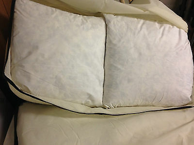 75 Goose Down Pillows - in Brighton - 46cm Square - can ship via pallet