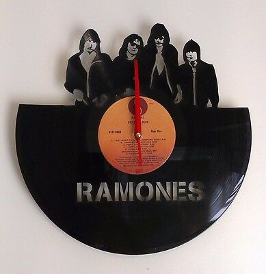 RAMONES - Wall Art Vinyl Record Clock - Home Decor