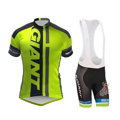Equipacion bicicleta Giant 2015 maillot culotte mtb ciclismo triatlon spinning