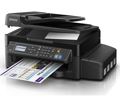 EPSON EcoTank ET 4500 All-in-One Wireless Inkjet Printer with Fax & Warranty