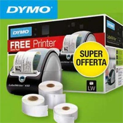 Dymo Labelwriter 450 Promo Pack With Three Lw Thermal Label Rolls / 51 Ppm