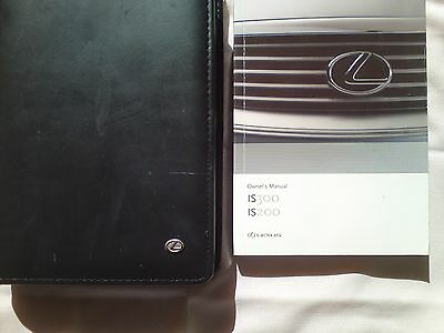 Lexus Original Issue Stitched Leather Embossed Logo Is200/300