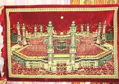 new  Islamic wall hanging tapestry Art- Kaaba from India size 120 cms