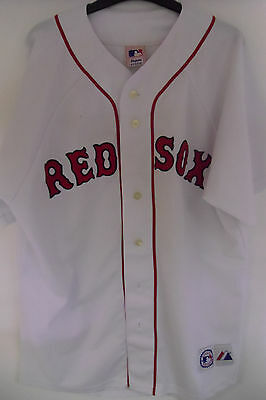 Boston Red Sox Large Jersey Majestic Used