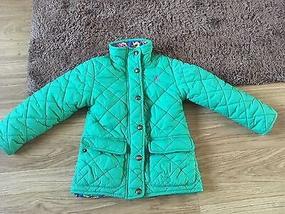 Joules Girls Jacket Age 4