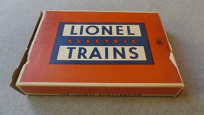 Lionel O Gauge No. 022 Right Hand Switch Empty Box ~ TS