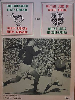 1968 British Lions In South Africa Rugby Almanac Official Publication Programme