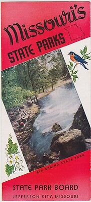 1950's Missouri State Parks Promotional Brochure