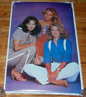 CHARLIE'S ANGELS '79 Poster Bi-Rite 1979 Jaclyn Smith Cheryl Ladd Shelly NM