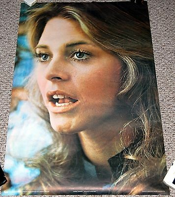 LINDSAY WAGNER 1976 Poster Holmes McDougall Pace #3090 Bionic Woman NEAR MINT