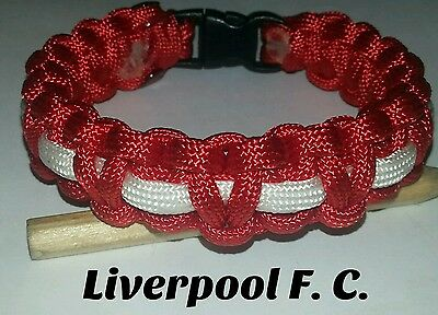 Liverpool paracord wristband