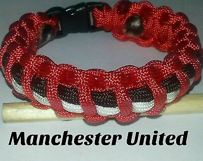 Man Utd paracord wristband