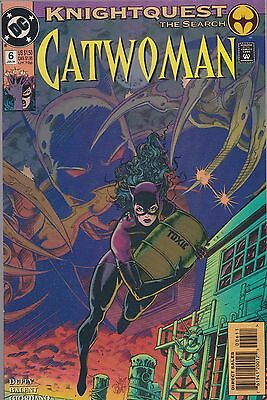 Catwoman #6 Dc 1994 Knightquest The Search