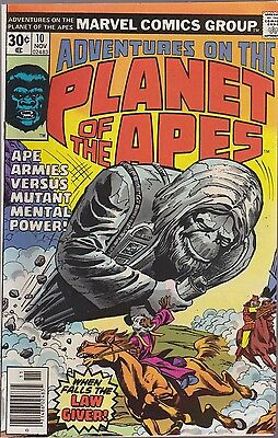 Adventures On Planet Of The Apes #10  Marvel 1976