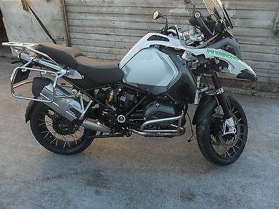 Bmw R1200 Gs Adventure Abs 2016, Cat-D Salvage £7,495.00 Ono. *please Read*