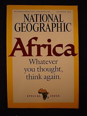 National Geographic - September 2005 - Africa