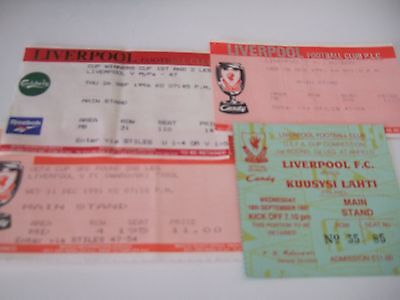 Liverpool European home tickets