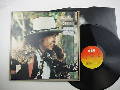 Bob Dylan,Desire,First pressing with matrix numbers ending A1 & B1,LP