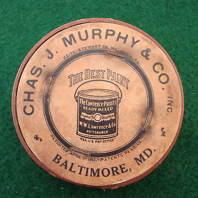 Early 1900s Adv. Collapsible Cup - Chas. J. Murphy & Co., Balto., PAINTS