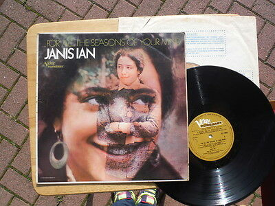 Janis Ian,For All The Seasons Of Your Mind,Very rare mono first pressing,LP