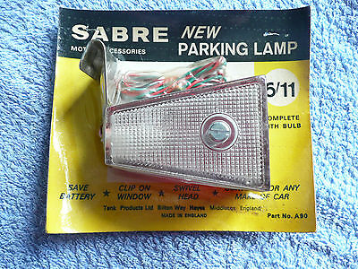 Sabre Clip- On Parking Light For Classic Car