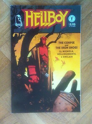 Hellboy The Corpse And The Iron Shoes  Mignola Near Mint  (W4)