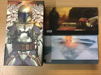 2016 Topps Star Wars Attack Of The Clones 3D Widevision Limited Set 44 Cards