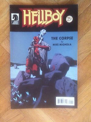 Hellboy The Corpse  Mignola Very Fine/near Mint (W4)