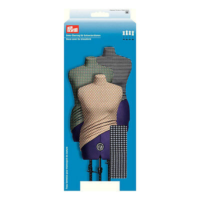 NEW   Prym 610233 Black White Houndstooth Dressform Cover Small UK Size 10 - 16